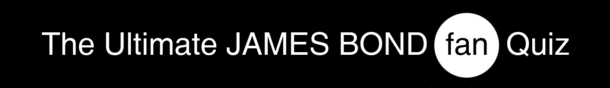 James Bond Quiz logo